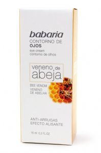 Babaria Bee Sting Venom Anti Wrinkle Smoothing Effect Roll on Eye Cream 15ml | Mia Beauty Ltd